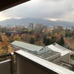 中島公園秋の紅葉(眺望)