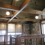 室内 広々天井