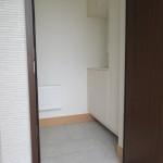 シューズクローゼット付き玄関(玄関)