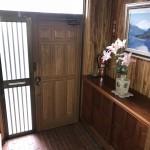 キッチン横勝手口玄関(玄関)