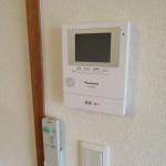 TVモニター付インターホン(設備)