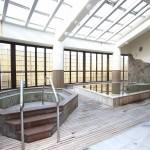 天然温泉が出る浴場