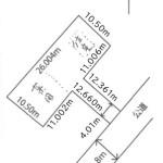 間口4m(区画図)