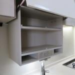 電気昇降式食器棚(キッチン)