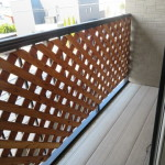 2階8帖洋室に面したバルコニー(バルコニー(テラス))