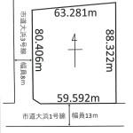 広々1642坪(区画図)